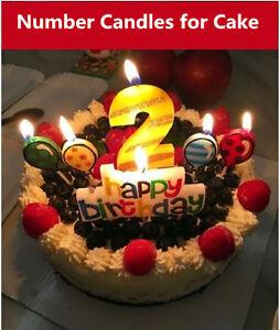 Astonishing Birthday Party Number Candles Birthday Cake Toppers Candles Personalised Birthday Cards Akebfashionlily Jamesorg