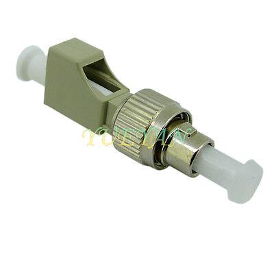 LC Female to FC Male Multimode Fiber Optical Hybrid Adapter Converter MM 50//125