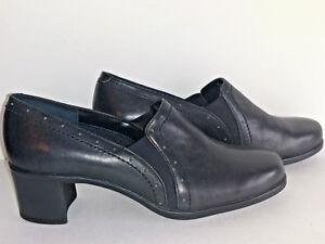 Shoes-EASY-SPIRIT-Womens-Size-6W-6-Wide-W-Black-Slip-Ons
