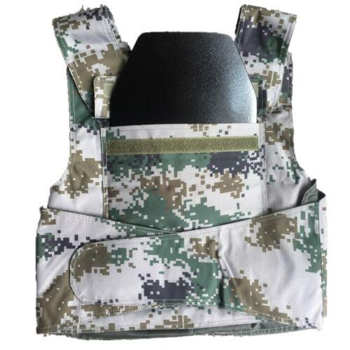 IIIA Stand Alone Safety Trauma Pads Body Armor Police Bulletproof Steel Plates