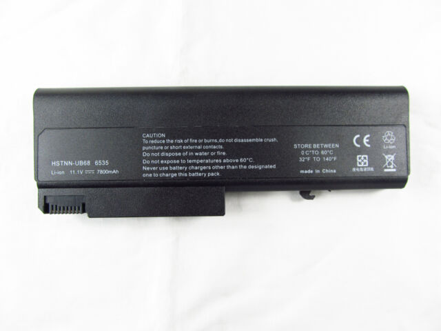 9 Cell 7800mAh Battery for HP ProBook 6440b 6445b 6450b 6540b 6545b 6550b 6555b
