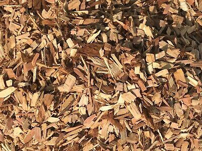 Mighty109 100 Natural Redwood Chip Mulch Ground Cover Bark