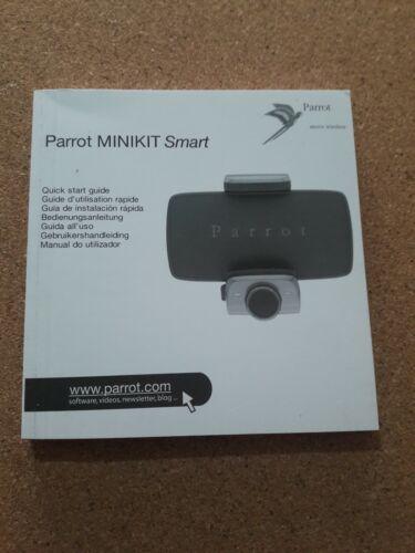 research.unir.net PARROT HANDS FREE MINIKIT SMART INSTRUCTION ...