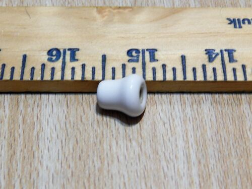 Porcelain Knob With Brass Plated Screw Cabinet Drawer