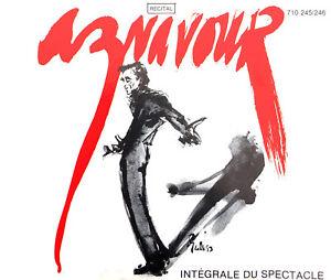Charles-Aznavour-2xCD-Recital-Integrale-Du-Spectacle-France-VG-EX