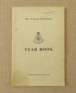 14th-PUNJAB-REGIMENT-YEAR-BOOK-1948-British-Indian-Pakistan-Army
