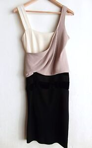 Sublime-Robe-Madeleine-VIONNET-T-36-38-Drape-soie-Haute-Couture-COMME-NEUVE