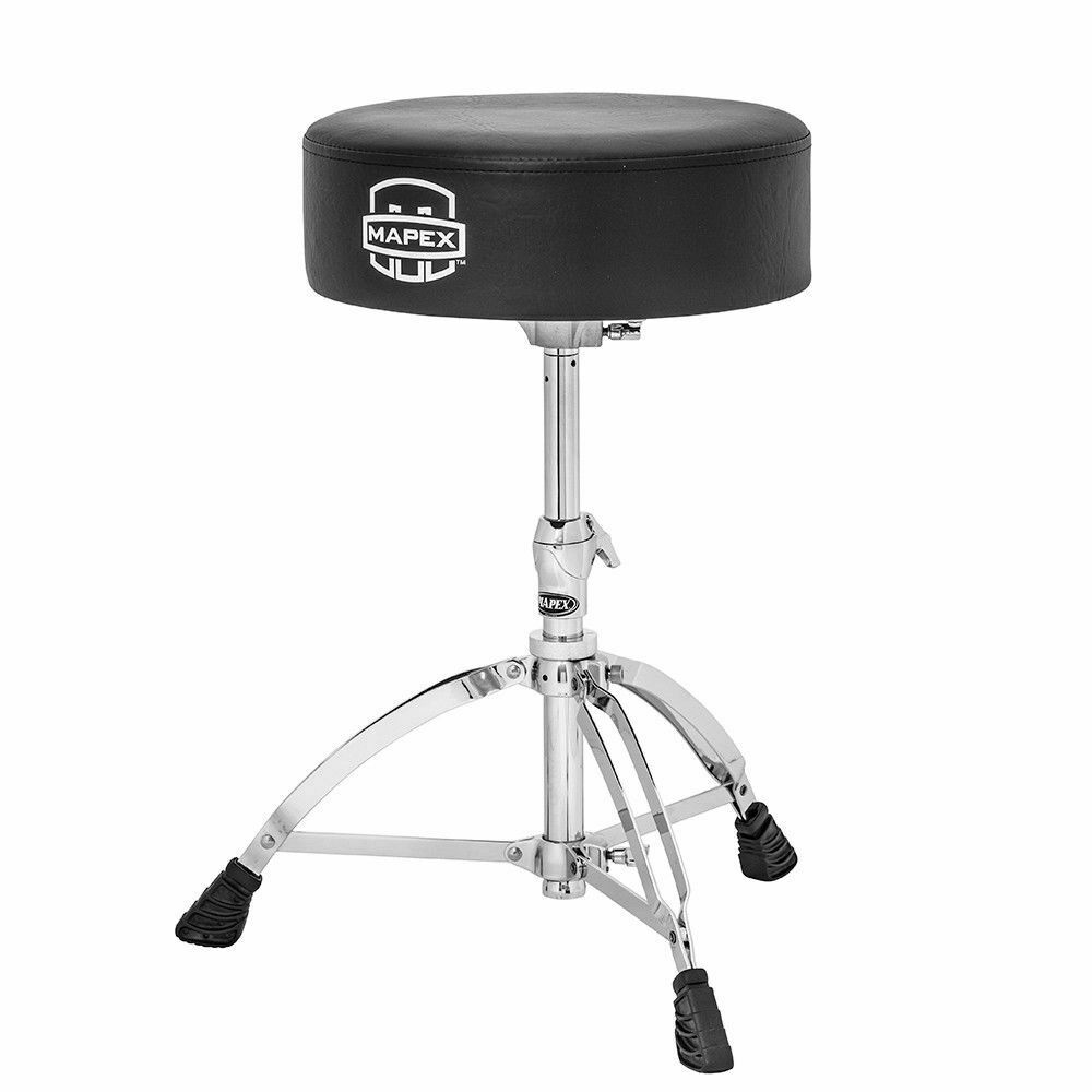 Mapex T570A Round Top Drum Throne Stool Double Braced-Free shipping