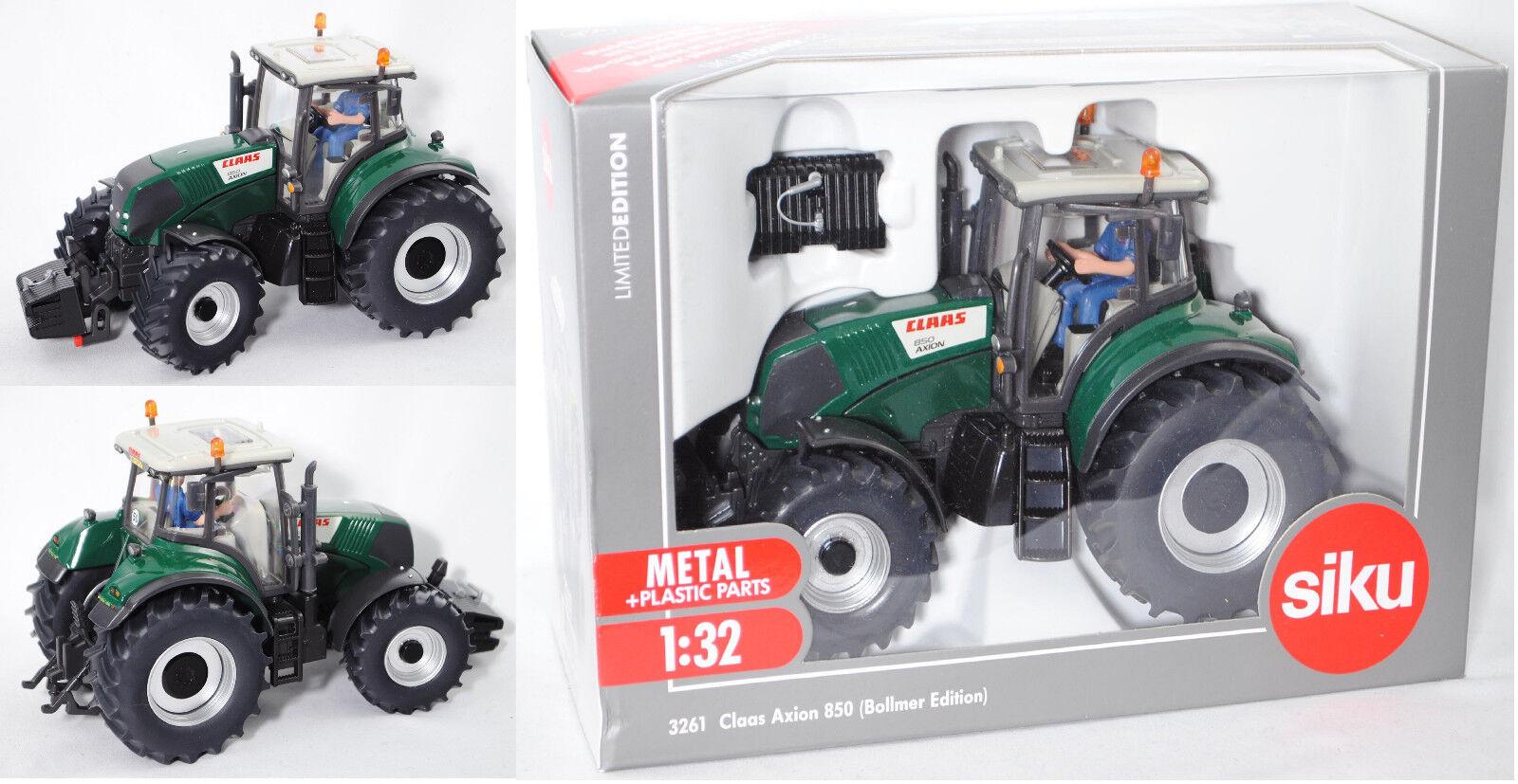 SIKU FARMER 3261 00601 Claas Axion 850 tracteur Bollmer Edition Spécial Modèle