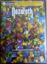 Nazareth - GREATEST HITS LIVE IN GLASGOW DVD/CD - Brand New