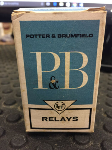 POTTER BRUMFIELD KRP11AG 24V RELAY CONTROL COMPONENTS