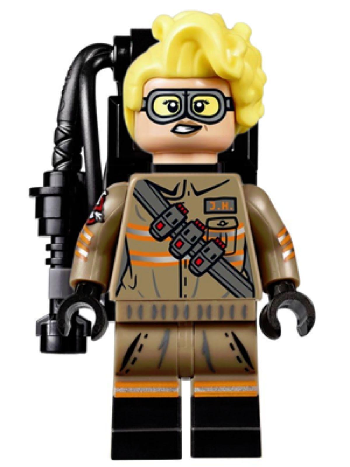 Loose LEGO Ghostbusters Janine Melnitz Minifigure