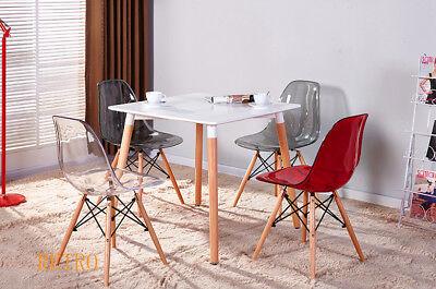 Tavolo Da Pranzo + Sedie Eiffel Retrò,-