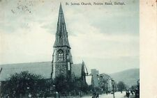 ST. JAMES CHURCH ANTRIM ROAD BELFAST IRELAND POSTCARD DALRIADA SERIES by DICKSON