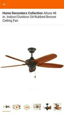 Home Decorators Collection Altura 48 Inch Indoor Outdoor Ceiling Fan Ebay