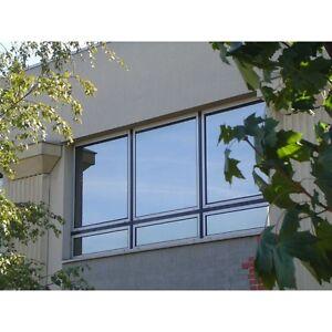 Silver Solar Reflective One Way Mirror Window Film Tint 80