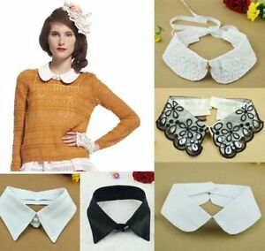Women Fake Collar Peter Pan Collar New Shirt Detachable Fashion