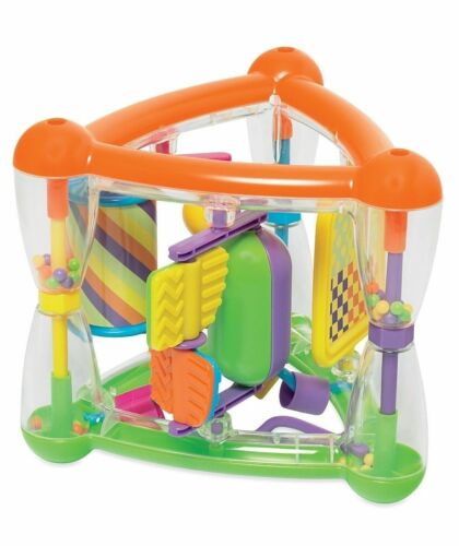 New Teaching Triangle Multi-Activity Toy Age 9 months move Spinning Popping