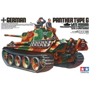 Panzer Panther Ausf G. Late Version - 1 35 Military Model Kit - Tamiya 35176