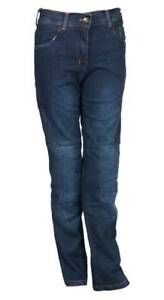 LADIES-RED-MOTORBIKE-MOTORCYCLE-PROTECTIVE-DENIM-TROUSER-JEAN-PANT-WITH-ARMOUR