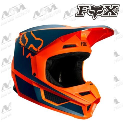 FOX V1 PRZM HELMET MOTORCYCLE MOTOCROSS ORANGE COLOR DOT 21773-009