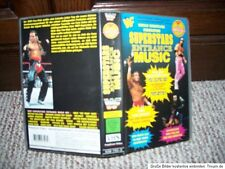 WWE Wrestling VHS Cover WWF Superstar Entrance Music Picture Poster WCW ECW TNA