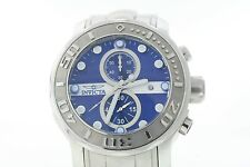 INVICTA MENS 0879 PRODIVER CHRONO BLUE DIAL NO RESERVE FREE SHIPPING