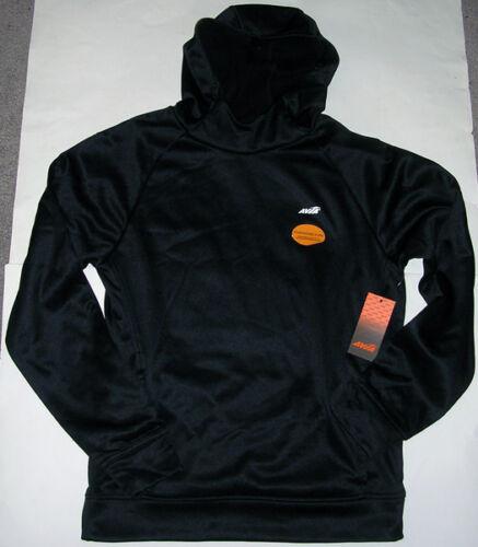 NWT Avia Black Athletic Poly Hooded Pullover Jacket Men's Medium MSRP $45!