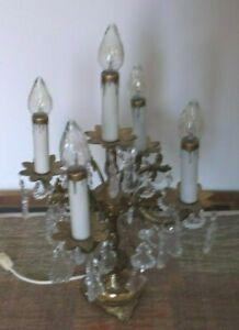 Brass 5 Light Candelabra