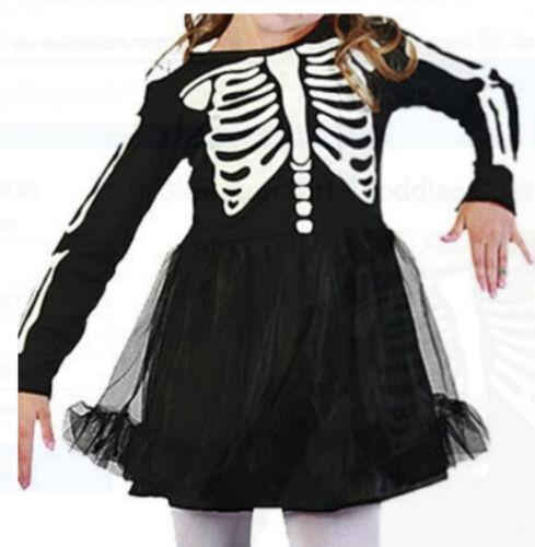 Zombie Bambini Baby Vestito * Bristol Halloween Skeleton Costume cranio 86,92,98