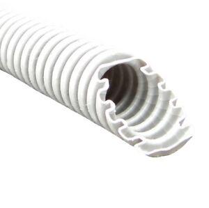 150m 0,54€/m = 3 x 50m Wellrohr Leerrohr Elektrorohr betonfest grau M25 750N