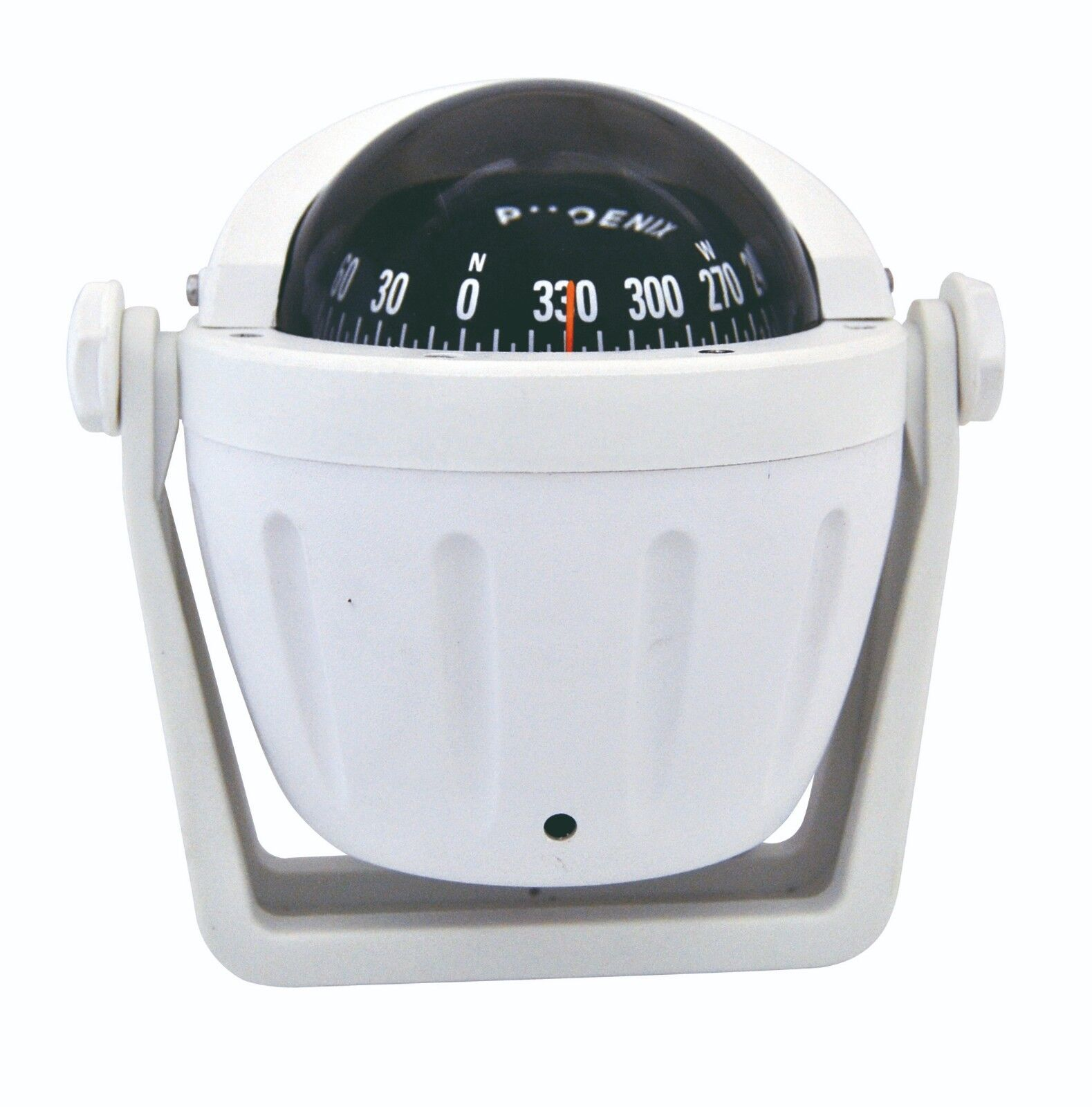 Riviera PHOENIX Series - BPH2 3  Flush Compass - 5  White