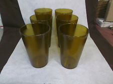 32 oz Plastic Tumblers Carlisle Tumblers Amber 6 PK