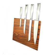 Messerblock BLOQ 707 Magnetblock Palisander mit Wandhalterung für Kochmesser