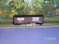 MICRO-TRAINS N SCALE #59530 40' STEEL SIDE ICE REEFER w/PRECO FAN BLACK HILLS