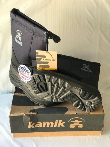 KAMIK ROCKET BLACK WATERPROOF COLD WEATHER BOOT REG $60 NOW $24.99 NEW