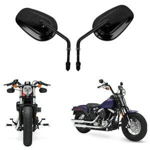Retroviseurs-Pour-Harley-Davidson-Road-King-Touring-XL-883-SPORTSTER-NOIR
