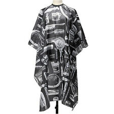 Pro Salon Barber Hairdressing Gown Dye Styling Cutting Shampoo Hair Cape Cloth