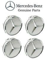 Genuine Mercedes 4x Wheel Center Hub Cap For Alloy Wheel on Sale