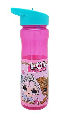 surprise LOL surprise Eau//Bouteille en plastique école Fille Rose 600 ml L.O.L * Nouveau