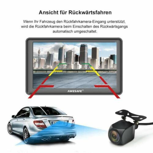 """7/""""Awesafe GPS Navi Navigation Auto Navigationsgerät mit Bluetooth Rückfahrkamera"""