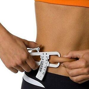 Personal Body Fat Loss Tester Calculator Caliper Fitness Clip Measurement