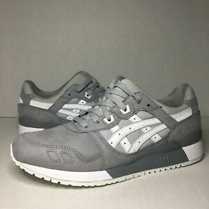 best sneakers 81a6f 35944 Details about Asics Tiger Gel Lyte III Aluminum Gray White H7K4Y-9601