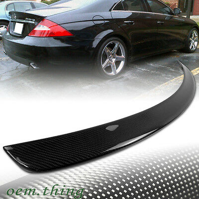 SHIP OUT TODAY Carbon Fiber MERCEDES BENZ W219 CLS 4D SEDAN A TRUNK SPOILER