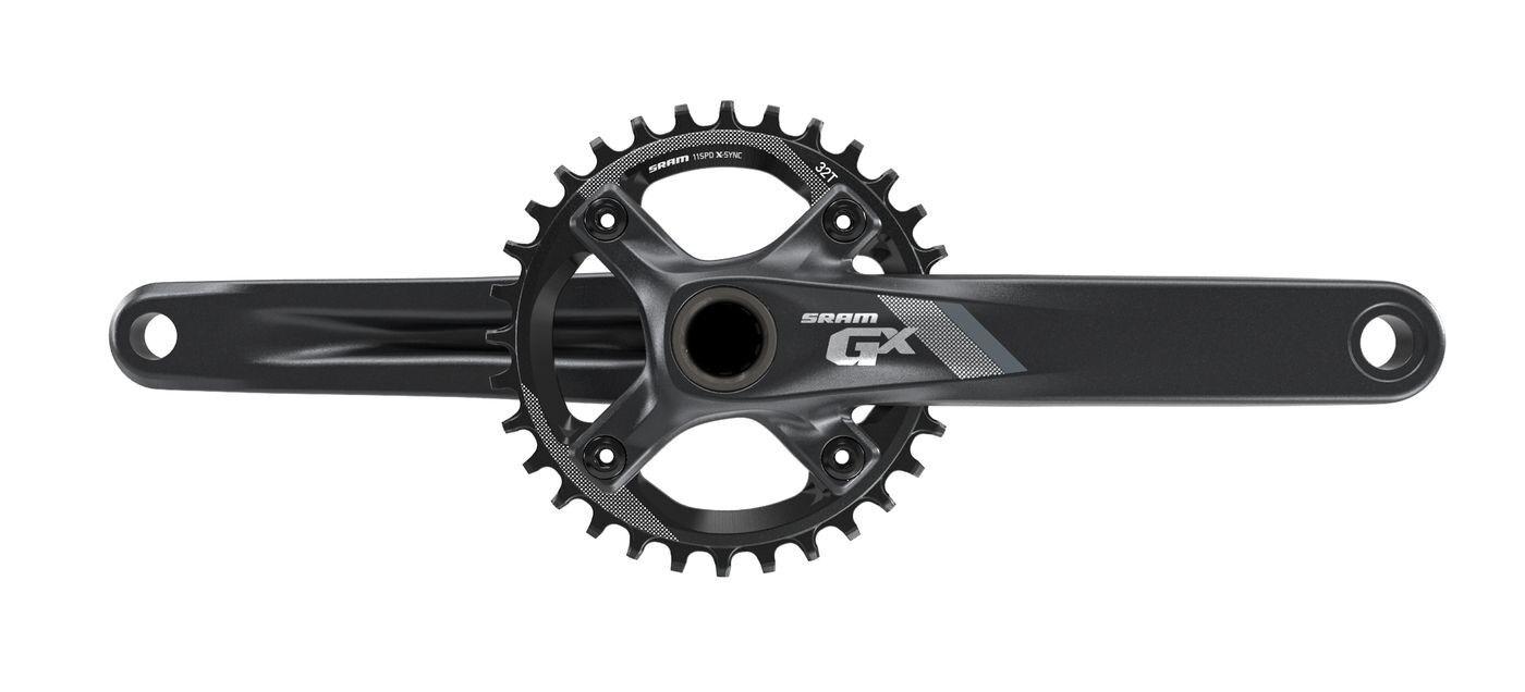 SRAM gx1 1400 conjunto de manivela negro 175 mm 32t xSync GXP