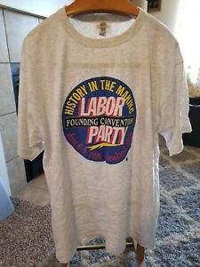 1996-Labor-Party-Founding-Convention-T-Shirt-Vintage-Rare