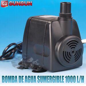 Bombas De Agua Sumergibles Para Acuarios Fuentes Estanques Sump Bomba De Subida Fish & Aquariums