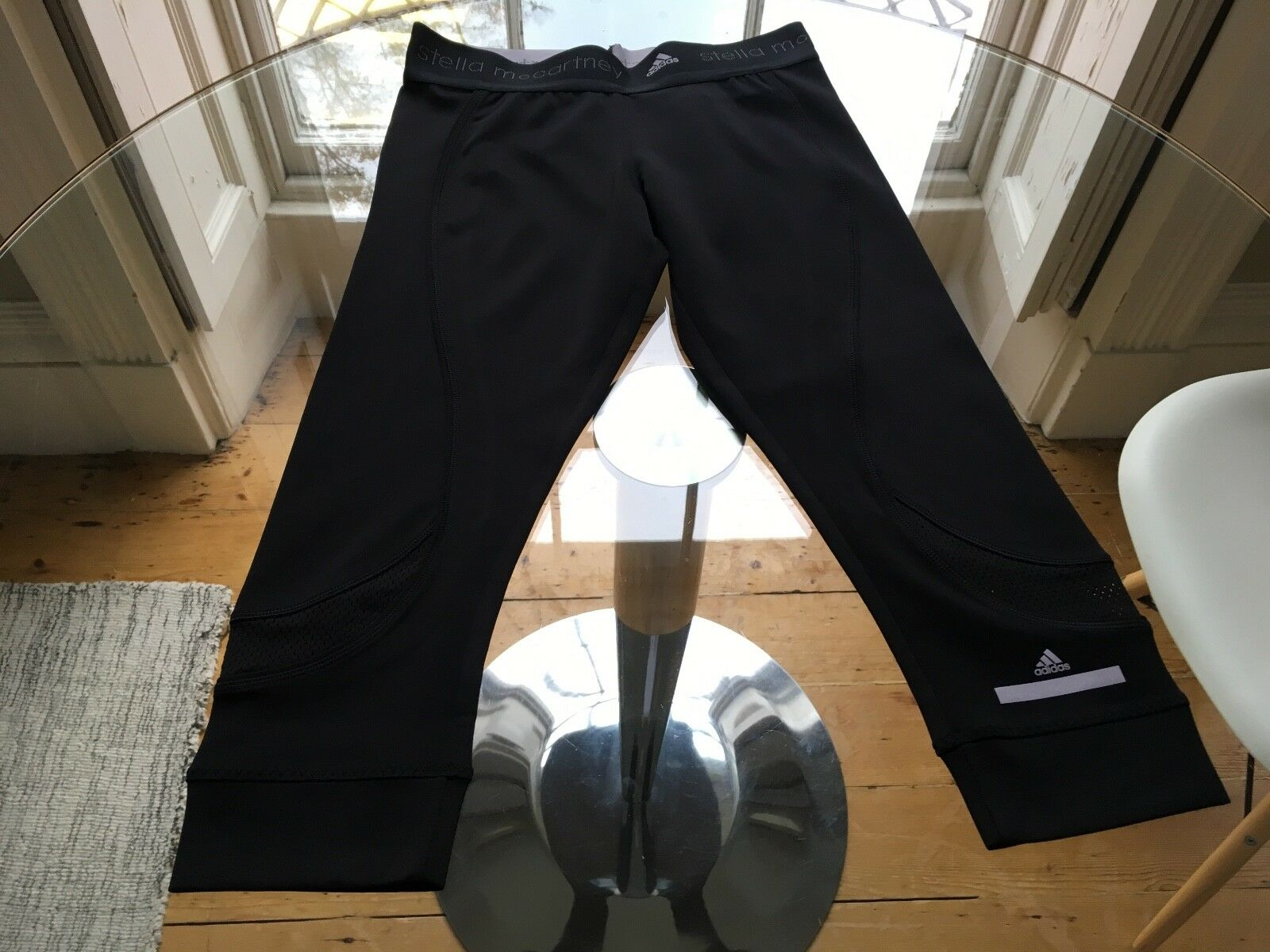 Stella mccartney running pants 3 4 length size small. Perfect condition