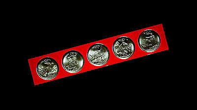 2008 P Hawaii Alaska Oklahoma Arizona New Mexico Statehood Quarter Mint Set