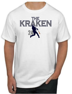 low priced 9a535 0ba6b THE KRAKEN Shirt - Gary Sanchez New York Yankees MLB T-Shirt ...